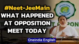 Sonia Gandhi and Mamata Banerjee hold opposition meet against NEET and JEE-MAIN exams