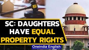 SC: Daughters have equal rights over parental property under amended Hindu Succession Act