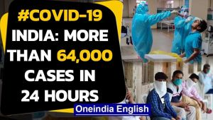 Coronavirus: Biggest single day spike of 64,399 cases in 24 hours, tally over 21 Lakh