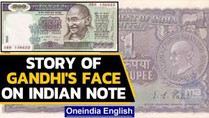 What is the story behind Mahatma Gandhi's face on the Indian Currency Notes
