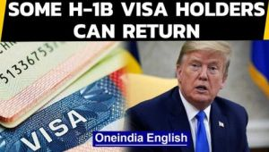 Trump relaxes H-1B Visa rules | Which workers can return?