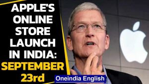 Apple to launch its first online store in India on September 23rd