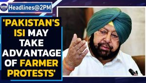 Amrinder Singh joins farmers' protest, says 'Pakistan's ISI may take advantage'