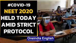 NEET 2020: Exam held with strict protocol at exam centres amid the raging Coronavirus Pandemic