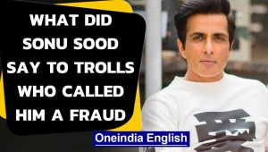 Sonu Sood gives a befitting reply to online trolls who called him a fraud
