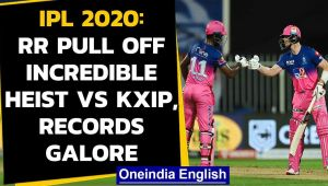 IPL 2020: Records galore during RR and KXIP clash; Samson, Mayank, Tewatia shine