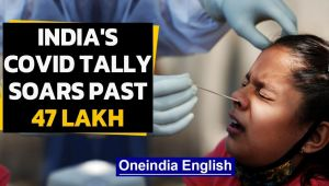 India records single-day spike of 94,372 cases, Covid tally soars past 47 lakh mark