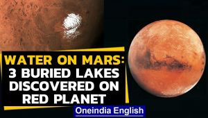 Mars: Researchers discover 3 buried lakes on the red planet, signs of life?