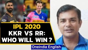 IPL 2020, KKR vs RR:  Who will win, CM Deepak predicts :Watch the video
