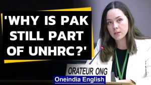 Pakistan exposed at UNHRC for sheltering terrorists