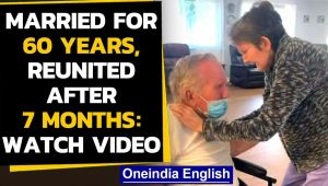 Covid-19: Heartwarming video of a couple reuniting after 7 months: Watch video