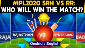 PL 2020: RR vs SRH: Sunrisers Hyderabad aim to come to winning ways against Rajasthan Royals