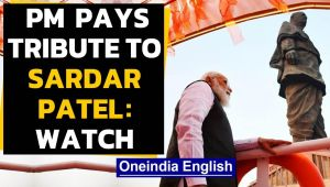 Sardar Patel birth anniversary: PM pays tribute at Statue of Unity