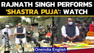Dussehra: Rajnath Singh performs the 'Shastra Puja' in Sikkim near China border: Watch