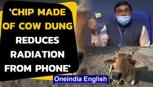 RKA Chief says, 'chips made from cow dung reduces radiation from mobile phone