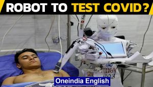 Egyptian inventor trials robot that can test for COVID-19, what does it do?