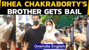 Showik Chakraborty gets bail in the drug-related charges in Sushant death case