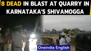 Blast at a quarry in Karnataka's Shivamogga, 8 people dead and area sealed off