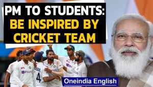 PM Modi's cricket inspired motivational message for students