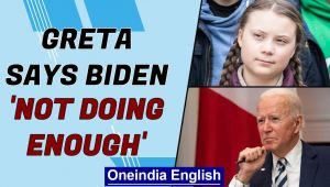 Greta: Joe Biden not doing enough for climate change