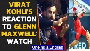 Virat Kohli's off-field antics during Glenn Maxwell's batting is a must watch