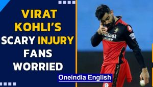IPL 2021: Virat Kohli plays with swollen eye after a near-miss injury #RCBvsMI