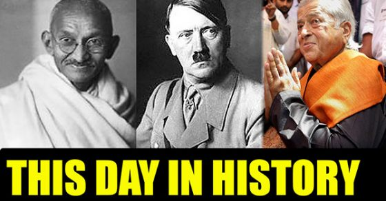 Today In History What Happened On This Day Know Oneindia
