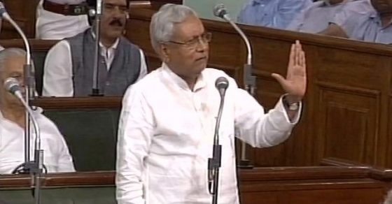 Nitish Kumar calls Lalu Yadav and Tejashwi greedy for power, Watch - Oneindia