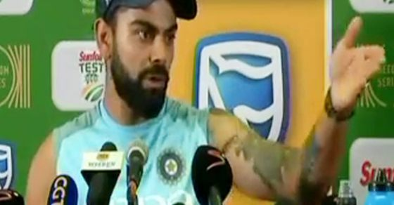 Virat Kohli gets angry after losing Centurion test, fights ...