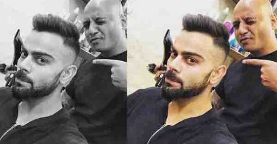 Ipl 11 Virat Kohli Gets A New Haircut Ahead Of The Ipl 2018 Oneindia