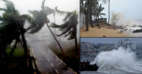 Sound and Fury: Watch this Frightening Video of Cyclone Fani Hitting Odisha  - Oneindia