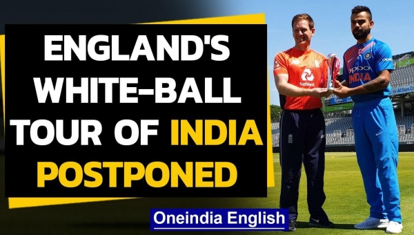 England's white-ball tour of India shifted to early 2021 due to COVID-19 pandemic