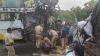 6 dead, around 12 injured after a Karnataka bus rams into a truck near Satara