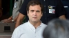 Modi govt using ED, CBI to character assassinate Chidambaram: Rahul Gandhi
