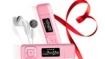 Transcend debuts pink MP330 music players
