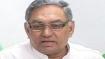 Shoe hurled at Congress leader Janardhan Dwivedi