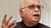Advani congratulates Mamata, hopes change will augur well