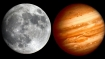 Moon to do the tango with Jupiter tonight