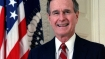 Former US president George WH Bush hospitalised a day after his wife's funeral