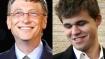 Magnus Carlsen beats Bill Gates in one minute
