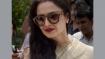 Rekha attends Rajya Sabha session