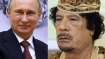 Gaddafi tried to marry son to Putin's daughter