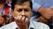 Youth Congress supporters protest outside Kejriwal's house