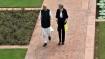 Narendra Modi formally receives British PM Theresa May