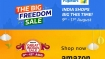 LIVE! The Amazon Great Indian Sale & Flipkart Big Freedom Sale: Get Up To 80% Off* (Aug 9th to 12th)