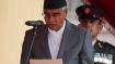 Nepal won't allow anti-India elements on its soil: PM Deuba