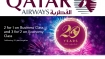CELEBRATION: Qatar Airways 20 Years, Upto 50% Off*