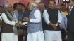 Modi to Nitish: CM Rupani's swearing-in ceremony or BJP-led NDA's show of strength?