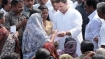 Rahul Gandhi visits cyclone-hit areasin Kerala