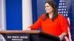 White House spokesperson, reporters spar over 'erroneous' news report